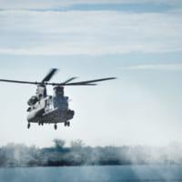 アメリカ陸軍が特殊部隊用に大型ヘリコプターMH-47Gブロ…