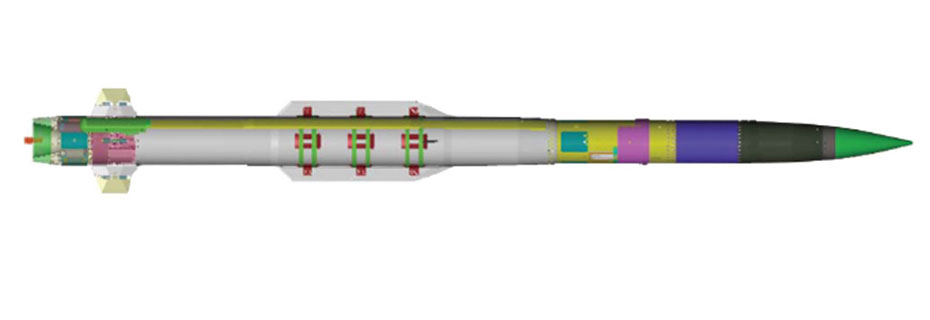 PAC-3 MSEの構造(Image:Lockheed Martin)