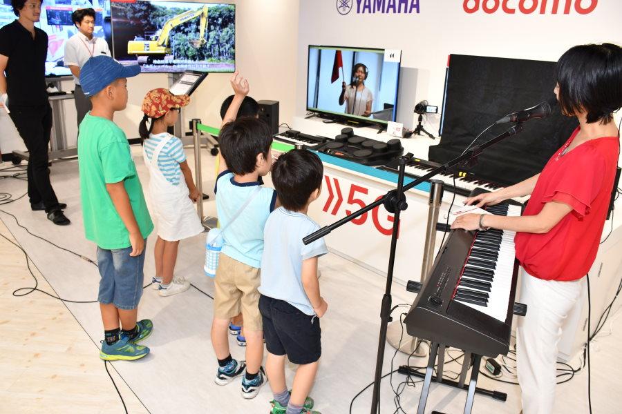楽しみながら5Gの仕組みを体験 NTTドコモ小学生向け夏休みワークショップに行ってみた