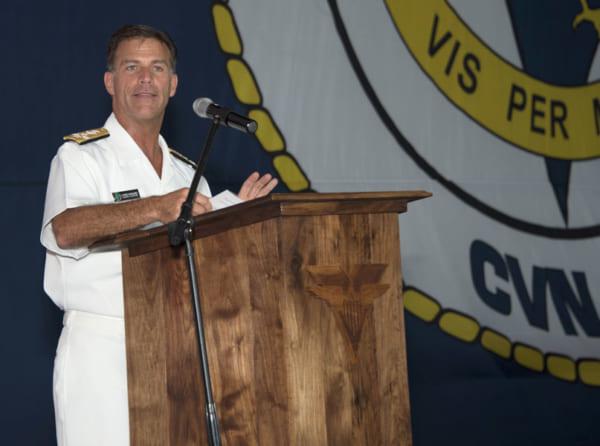 アメリカ太平洋艦隊司令官アキリーノ大将