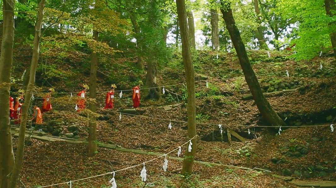 河口の稚児舞をモチーフにした「神楽鈴の鳴るとき」が上映会 ジブリ出身クリエイター・増山修原案
