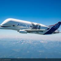 エアバスの新しい「シロイルカ」初めての空へ・巨大輸送機ベル…