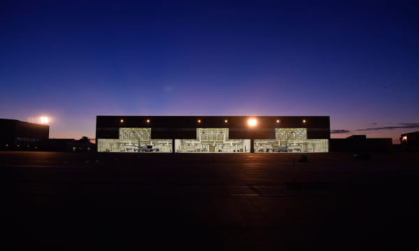 マコーネル空軍基地に完成したKC-46用格納庫(画像:USAF)