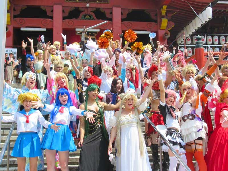 ガチ勢からゆるコスプレイヤー集団までが商店街を練り歩く!大須コスプレパレードに突撃してみた