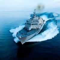 アメリカ海軍が新しい沿海域戦闘艦2隻を同時に受領