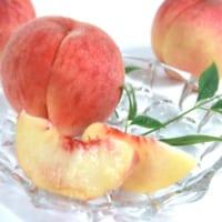 桃は柔らかいだけじゃない!パリっと甘い桃も美味しいよという…