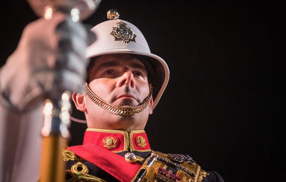 イギリス海兵隊音楽隊のバンドマスター