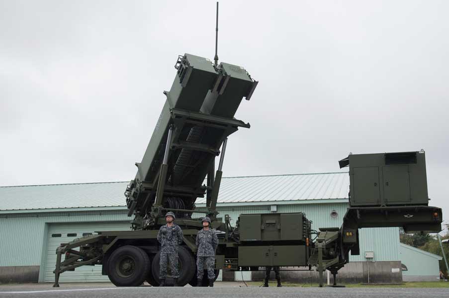 航空自衛隊第3高射群第9高射隊のPAC-3(Image:U.S.Army)