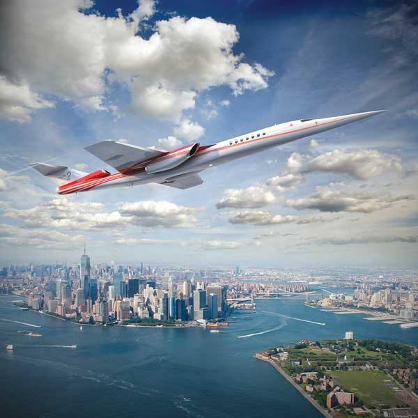 ニューヨーク上空を飛ぶAS2の想像図(2017年12月現在)