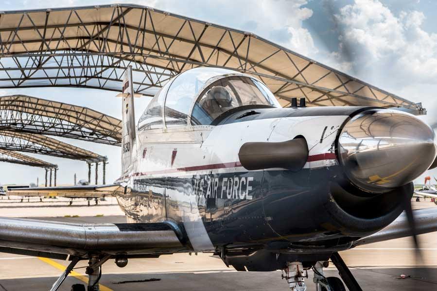 アメリカ空軍のT-6