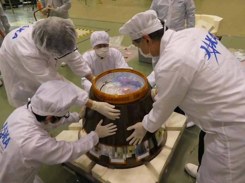 JAXAの小型回収カプセル(Photo:JAXA)