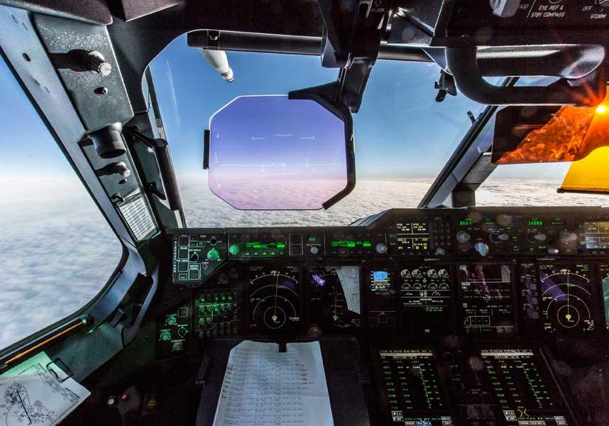 B(テクニカル/エンジニアリング)部門第2席「Pilots Eye View」ロブ・トラビス軍曹