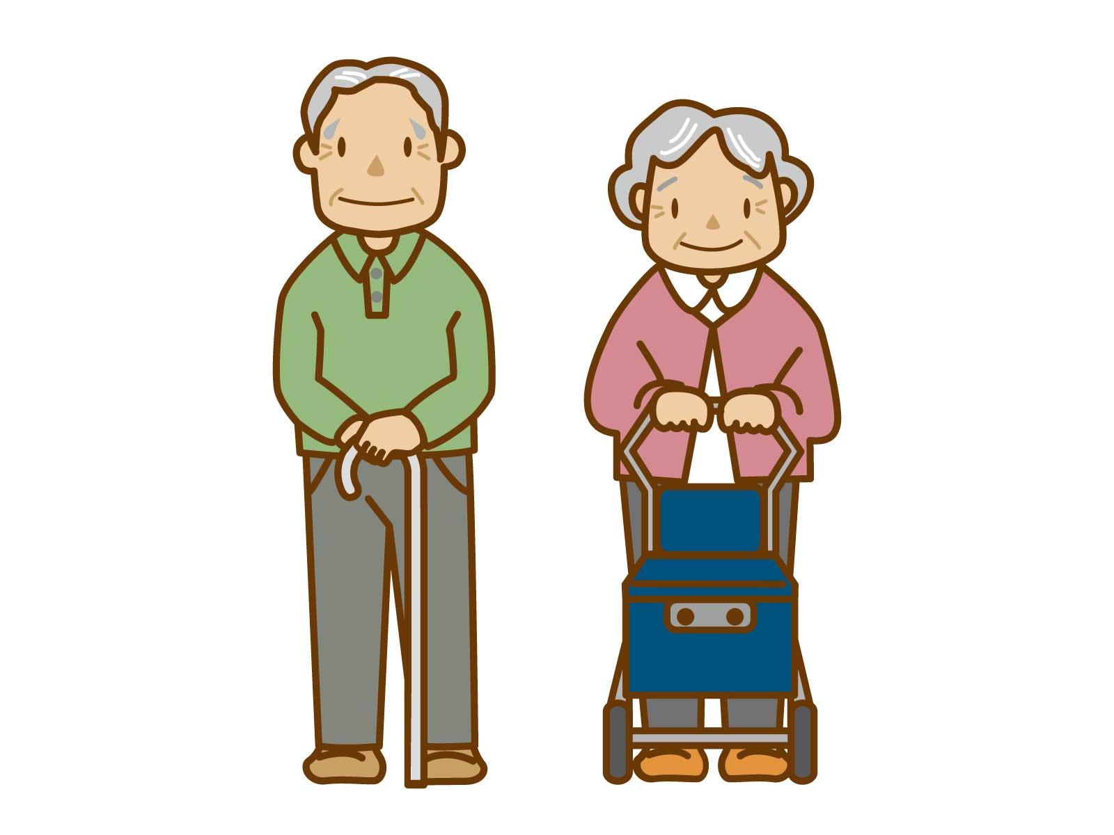 お年寄りの足腰が弱ったら?杖や手押し車は買わずにレンタルする方がいい理由