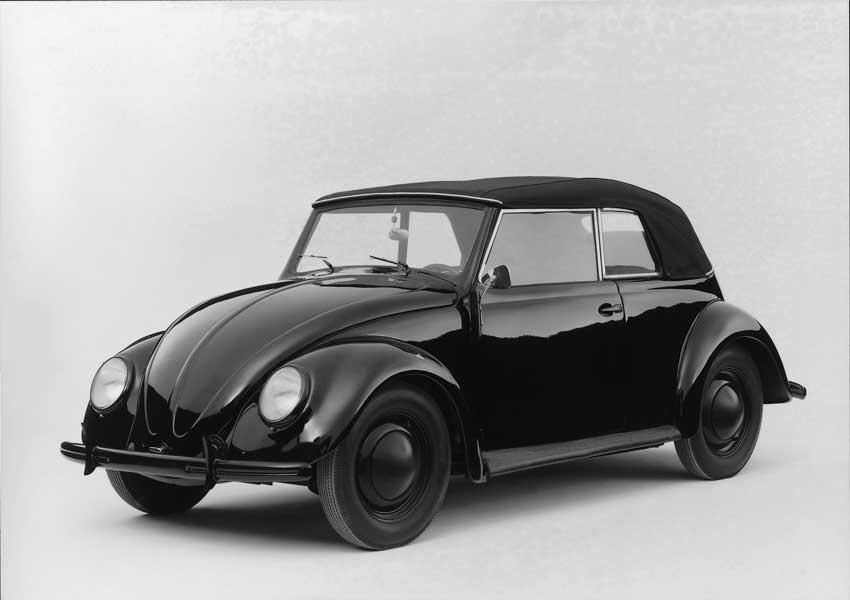 1938年の初代量産仕様(VW38カブリオレ)