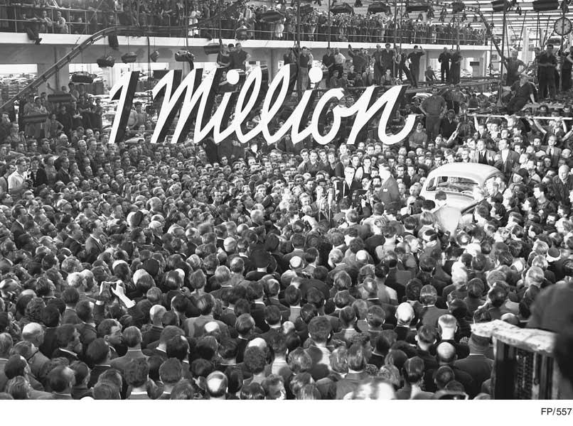 累計生産100万台達成(1955年)