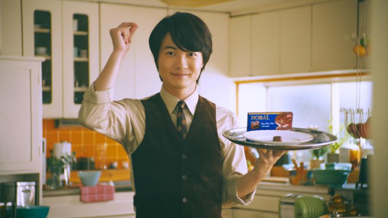 神木隆之介が「イタズラ男子」に変貌 HOBALのWEB動画で尊い笑顔を連発
