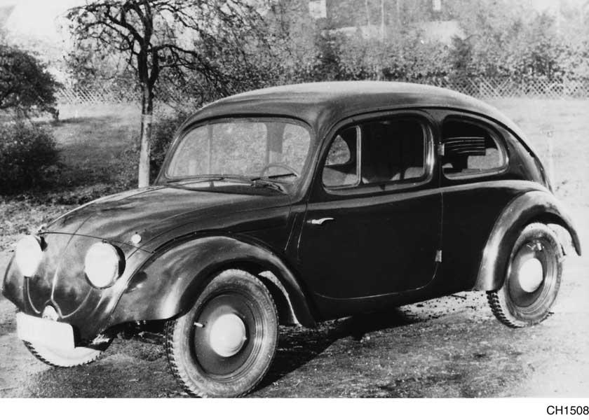 1935年の試作車(VW3)