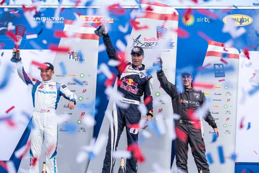 【レッドブル・エアレース】第6戦ウィーナー・ノイシュタット大会 ソンカ最多タイの3連勝・室屋は開幕戦以来の2位