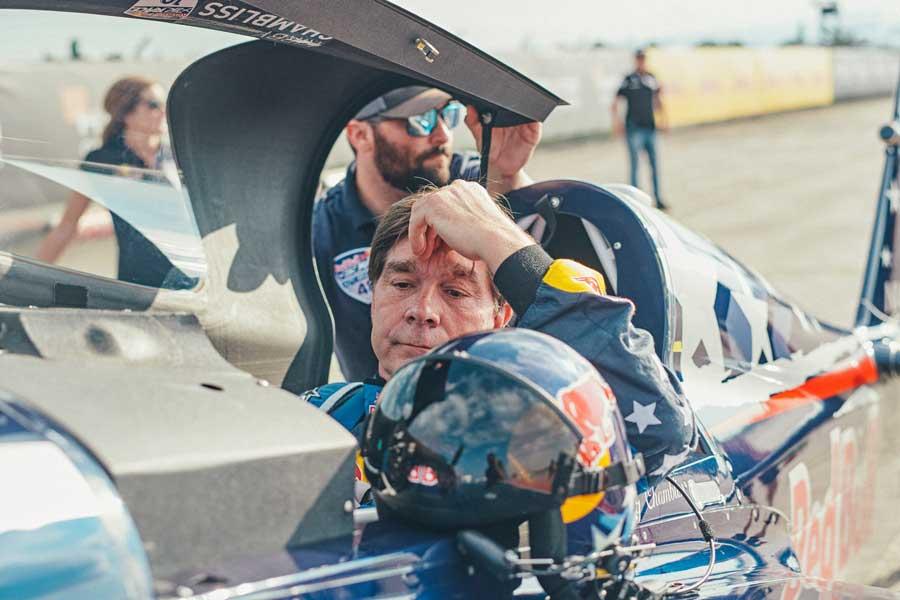 チャンブリス選手はエンジントラブルでラウンド・オブ8を棄権(Balazs Gardi/Red Bull Content Pool)