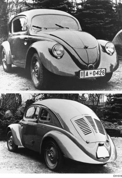 1937年の試作車(VW30)