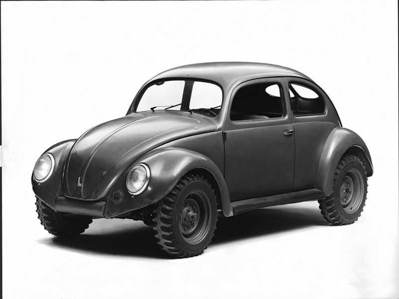 1938年の初代生産仕様(VW38リムジン)