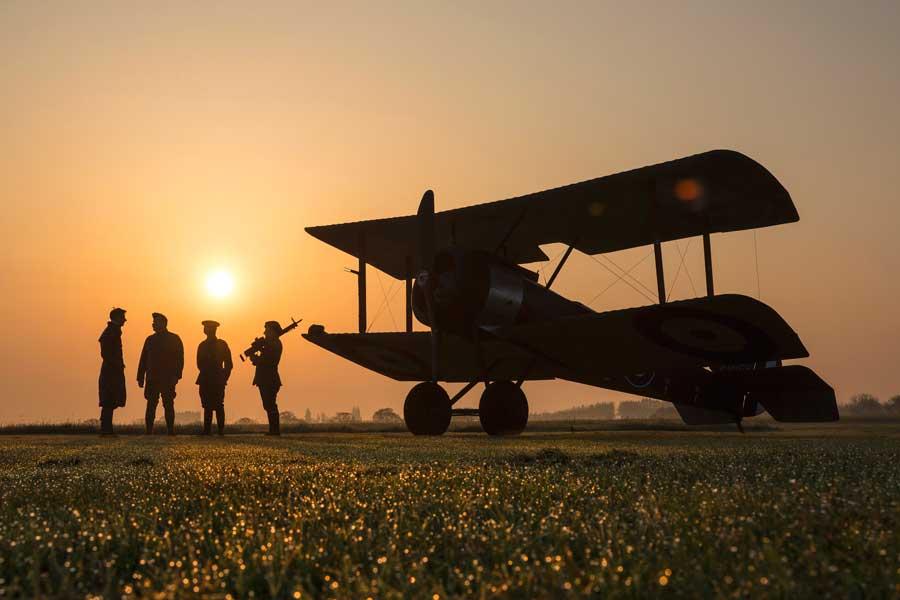 H部門(空軍100周年)第1席「Dawn Of The RAF(イギリス空軍の夜明け)」ティム・ローレンス伍長