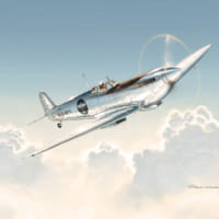 イギリスの名機スピットファイアが日本の空を飛ぶ!「シルバー…