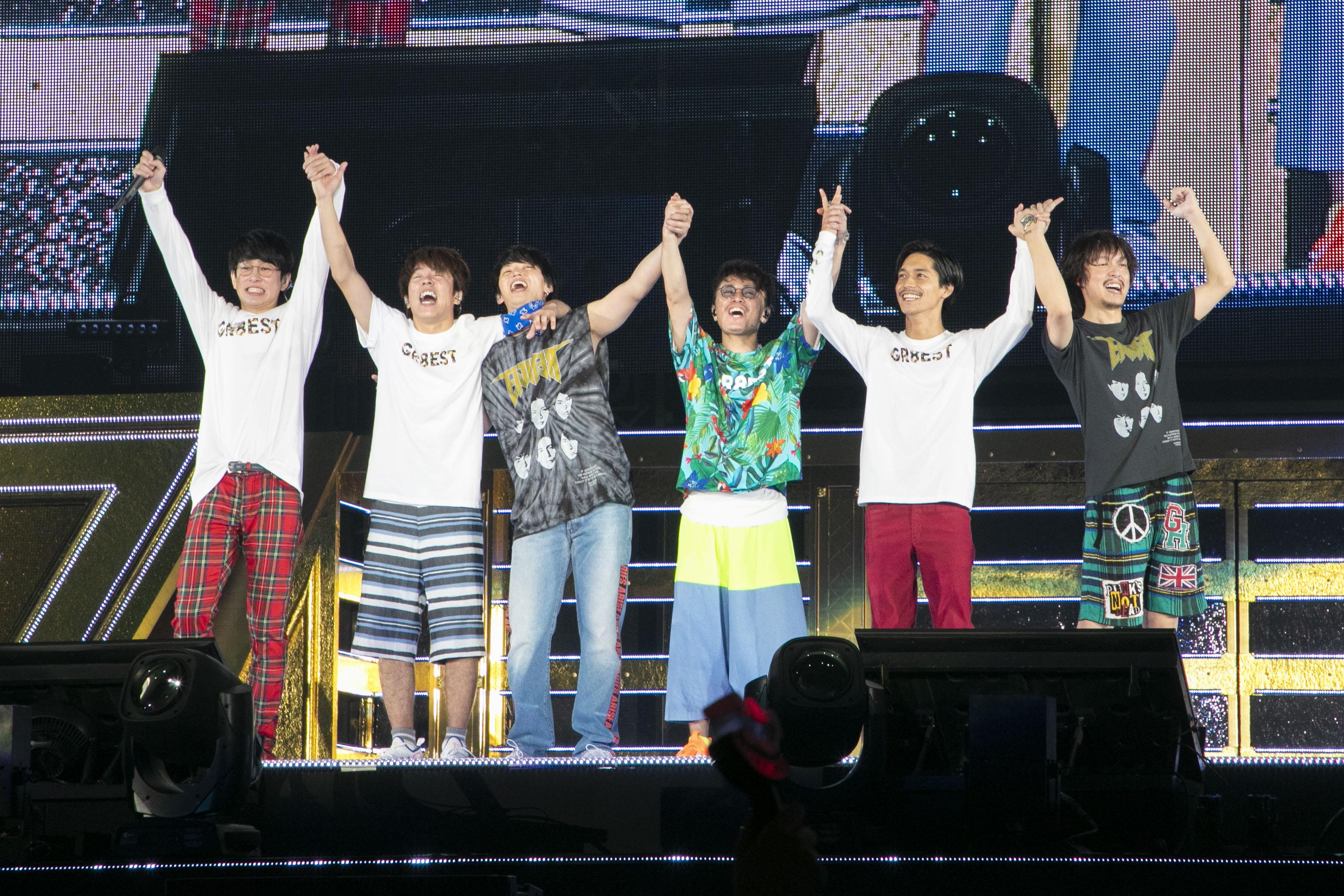 「関ジャニ∞」6人体制で初のツアー 東京ドーム公演で22万人動員