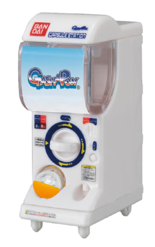 ややこしい…ガシャポン自販機1/12スケールがガシャポン商品に登場