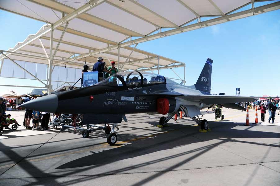 エアショウで公開されたT-50A(Image:USAF)