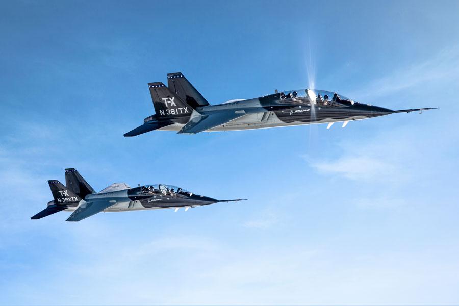アメリカ空軍の次期ジェット練習機ボーイング/サーブT-X(Image:Boeing)