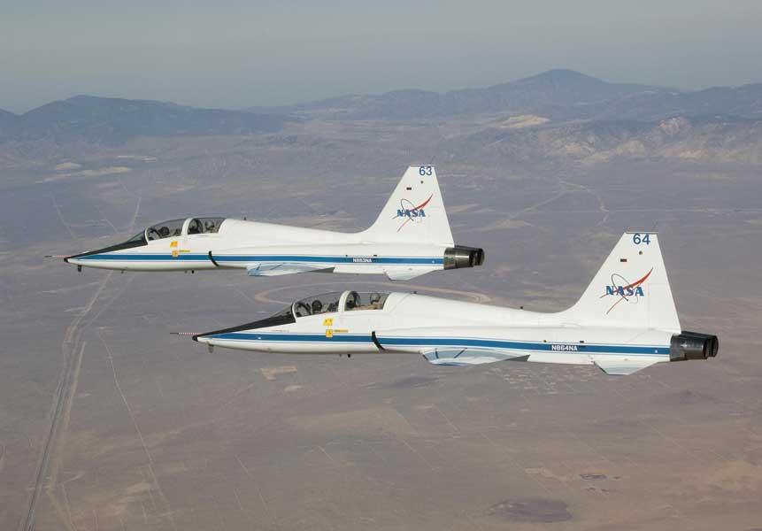 NASAのT-38A(Image:NASA)
