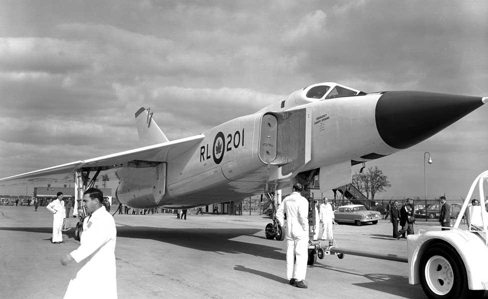 アブロCF-105アロー1号機(Photo:RCAF)