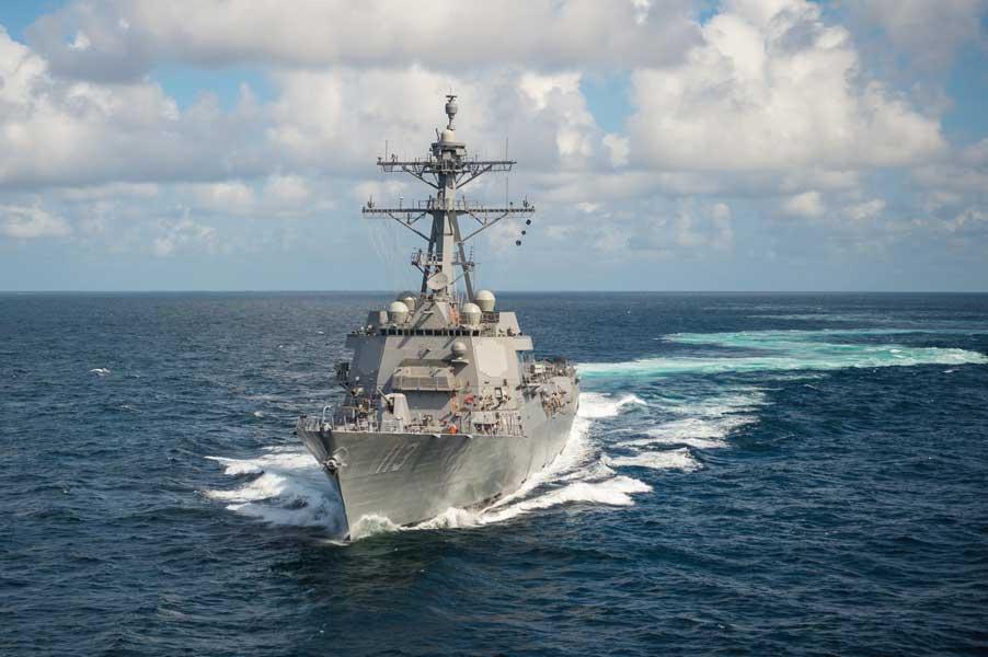 海上自衛隊の護衛艦に搭載予定 新型イージスシステムがミサイル迎撃に成功