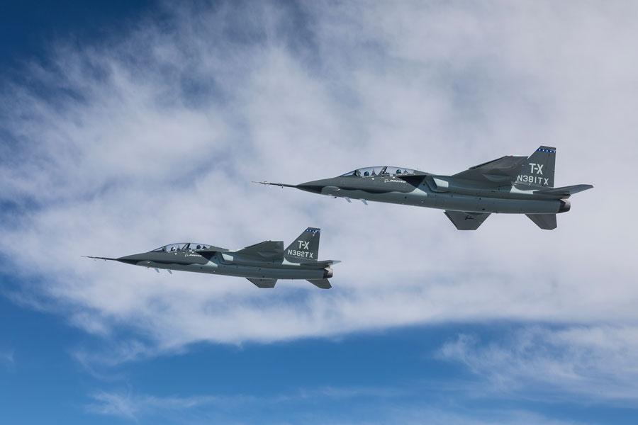 ボーイング/サーブT-X(Image:Boeing)