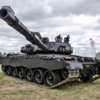 イギリス戦車の近未来像?BAEシステムズが「ブラックナイト…