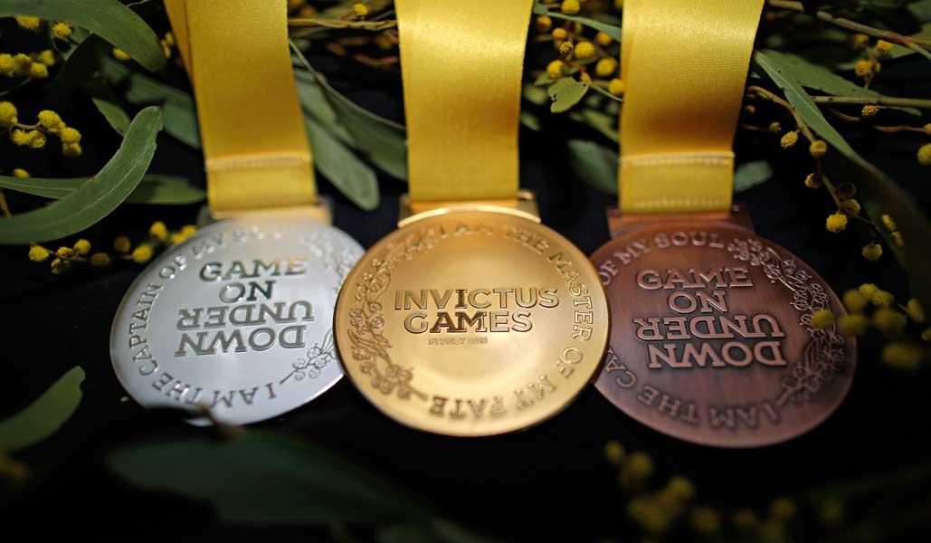 インビクタス・ゲームスのメダル