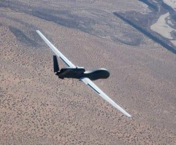 飛行するRQ-4ブロック30(画像:Northrop Grumman)