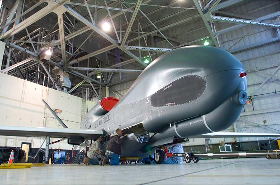 アメリカ空軍のRQ-4グローバルホーク・ブロック30(画像:Northrop Grumman)