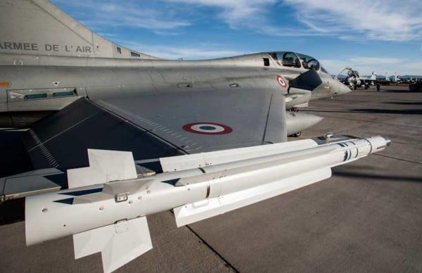 """法国签署开发下一代空对空导弹""""MICA-NG"""""""