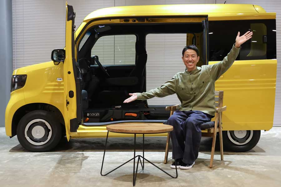 ホンダファン芸人・チュートリアル福田さんについにオファー 愛溢れる撮影現場を密着レポート