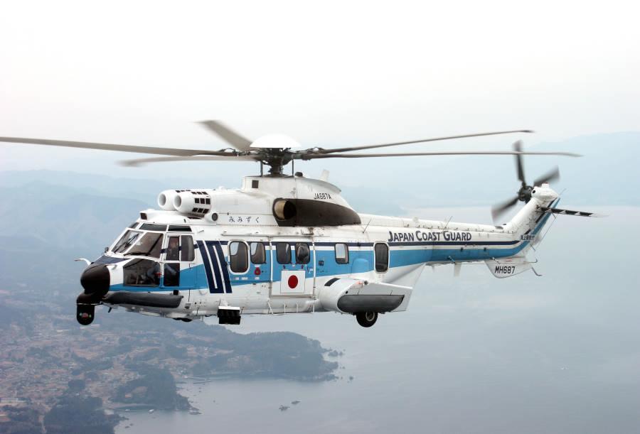 海上保安庁のH225(画像:AIRBUS)
