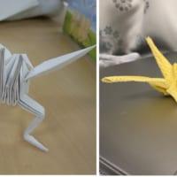 整形外科医たちの器用さは折り紙が作る!? 折り鶴キングギド…
