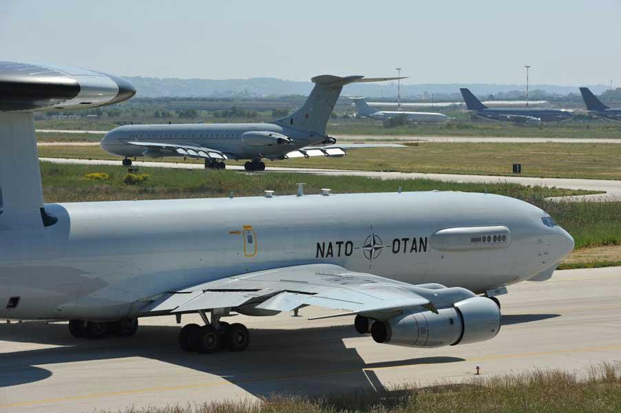 NATOのAWACS(画像:NATO)