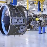 三菱MRJ用エンジン国内組み立て1号機が完成
