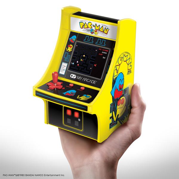 懐かしのアーケードゲームがミニサイズに 「レトロアーケード」として発売