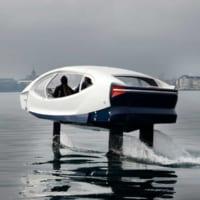 未来のカーシェアリングは水の上?クルマみたいに使える水中翼船…