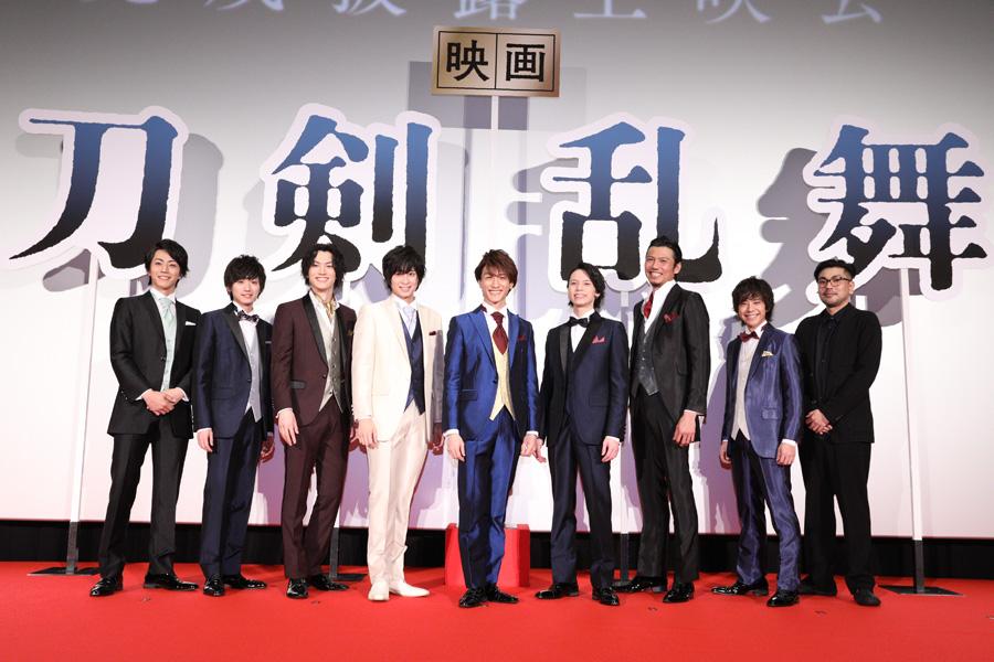 西川貴教が刀剣男士参加を熱望? 「映画刀剣乱舞」上映会では爆笑裏話が続々
