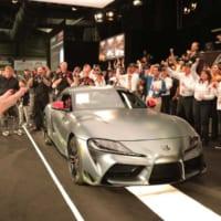 トヨタGRスープラの第1号車がチャリティオークションに登場…