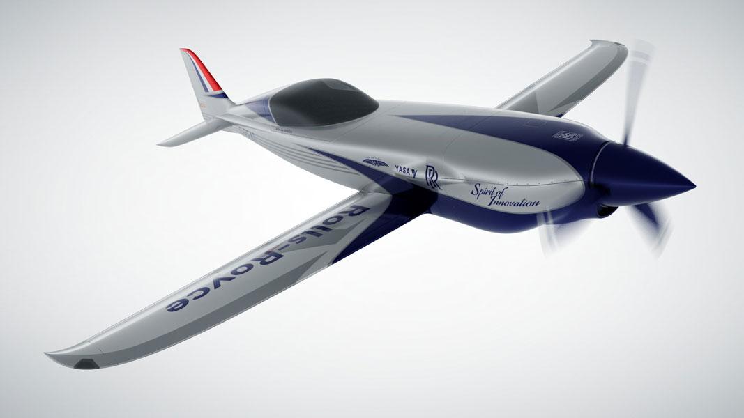 目指すは2020年に時速480km以上!ロールスロイスが世界最速の電動飛行機「ACCEL」計画発表